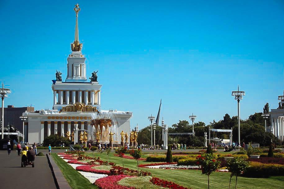 На ВДНХ ко Дню города запустят светотехническое шоу об истории Москвы