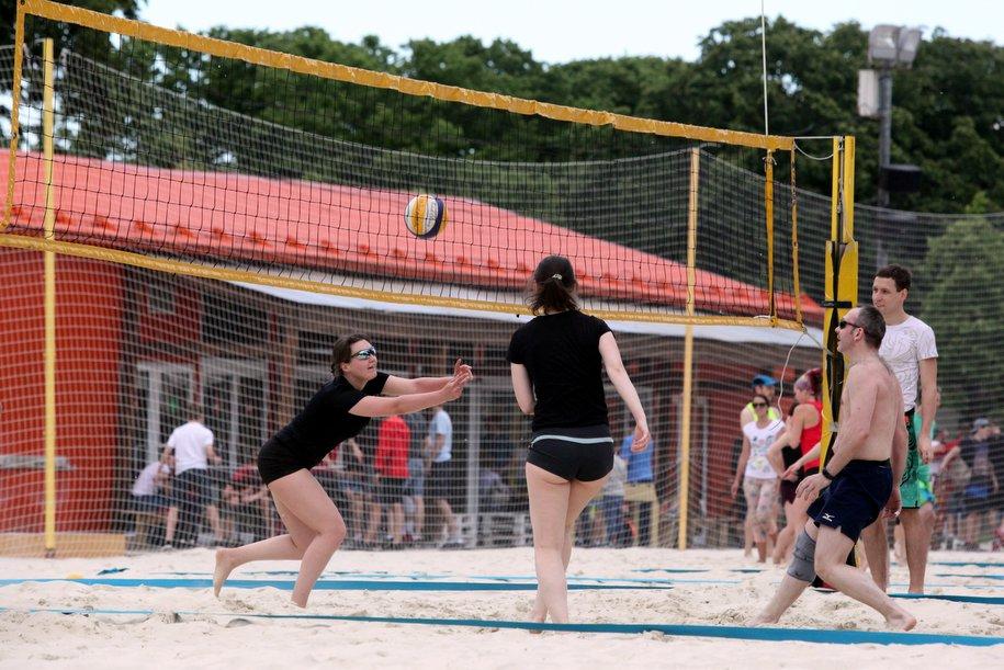 В Парке Горького пройдет этап мирового тура Международной федерации волейбола