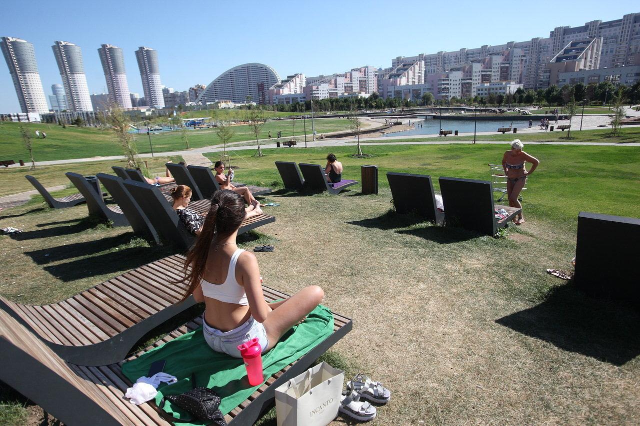 15 августа в Москве ожидается до 28 градусов тепла и кратковременный дождь