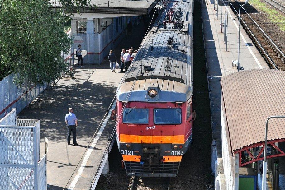 На Курском направлении МЖД частично отменена электричка