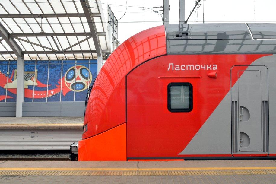 Новая разметка появилась на станциях Московского центрального кольца