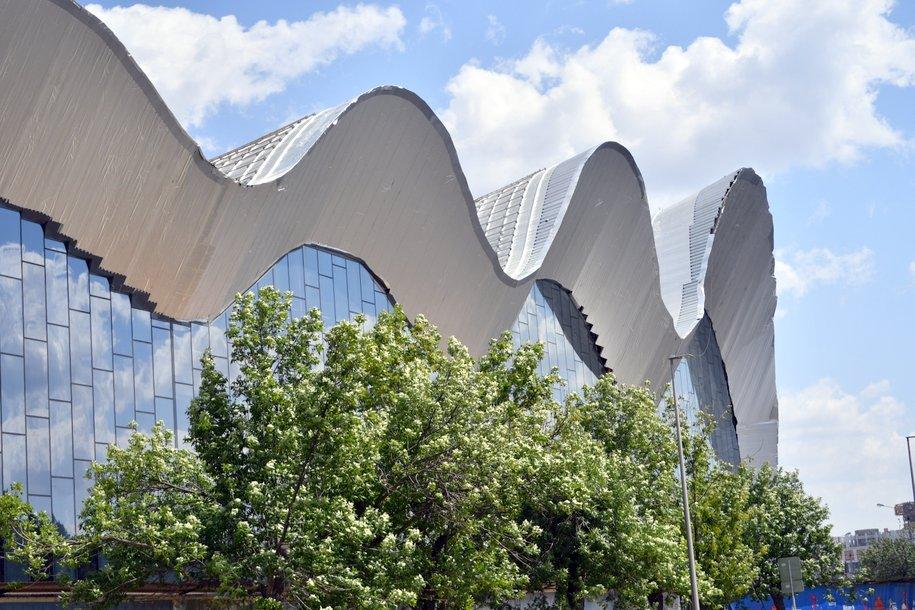 В «Лужниках» возобновилось строительство центра художественной гимнастики