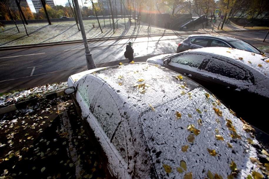 В ночь с субботы на воскресенье температура в Москве опустится ниже нуля
