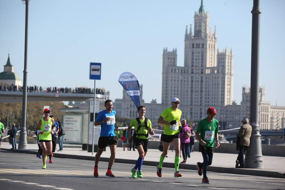 Участниками Московского марафона стали более 30 тысяч человек из 92 стран