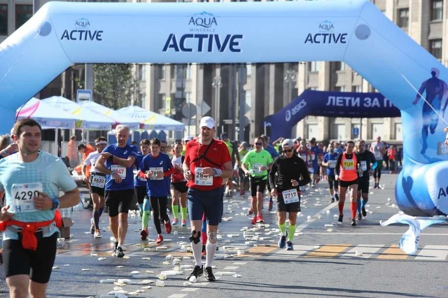 Cергей Собянин пригласил москвичей поучаствовать в Московском марафоне