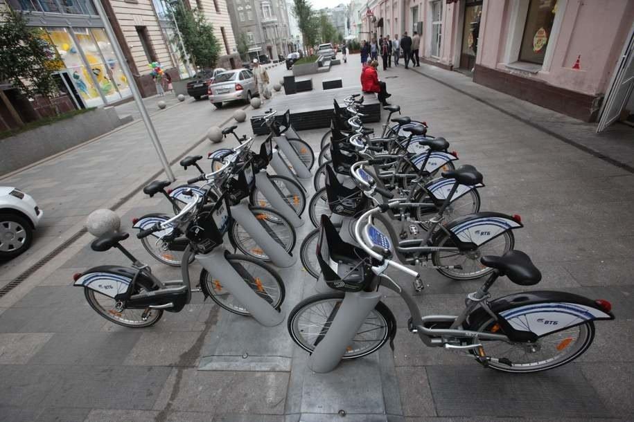 Количество велосипедов в сервисе проката «Велобайк» будут увеличивать на тысячу ежегодно с 2019 года