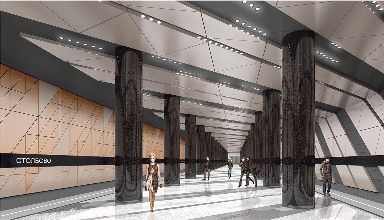 Проектирование участка от станции «Столбово» до Троицка завершат в 2019 году