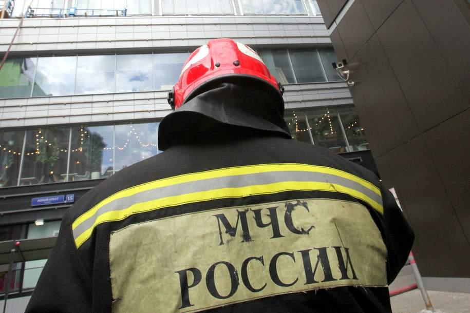 В жилом доме на Юго-Западе Москвы произошёл пожар