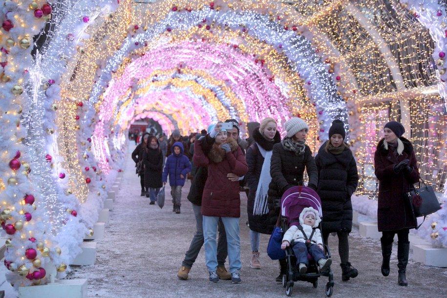 Издание The Telegraph включило Москву в список городов с лучшими рождественскими ярмарками и фестивалями