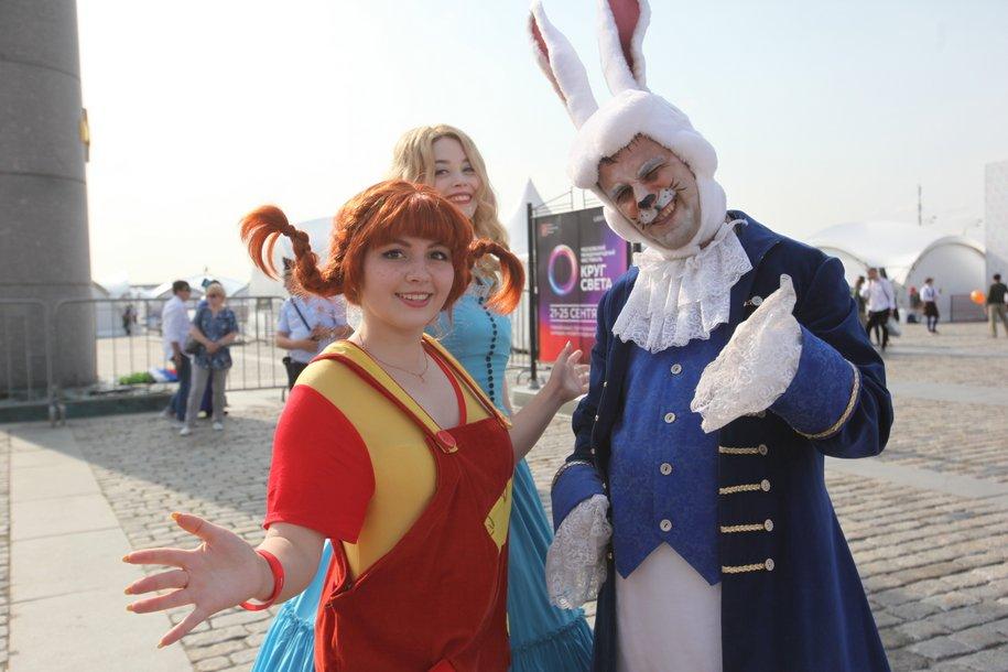 В праздновании Дня города приняли участие более 10 млн человек