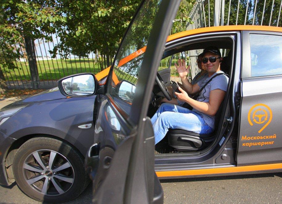Парк автомобилей «Московский каршеринг» составляет 11,5 тыс машин