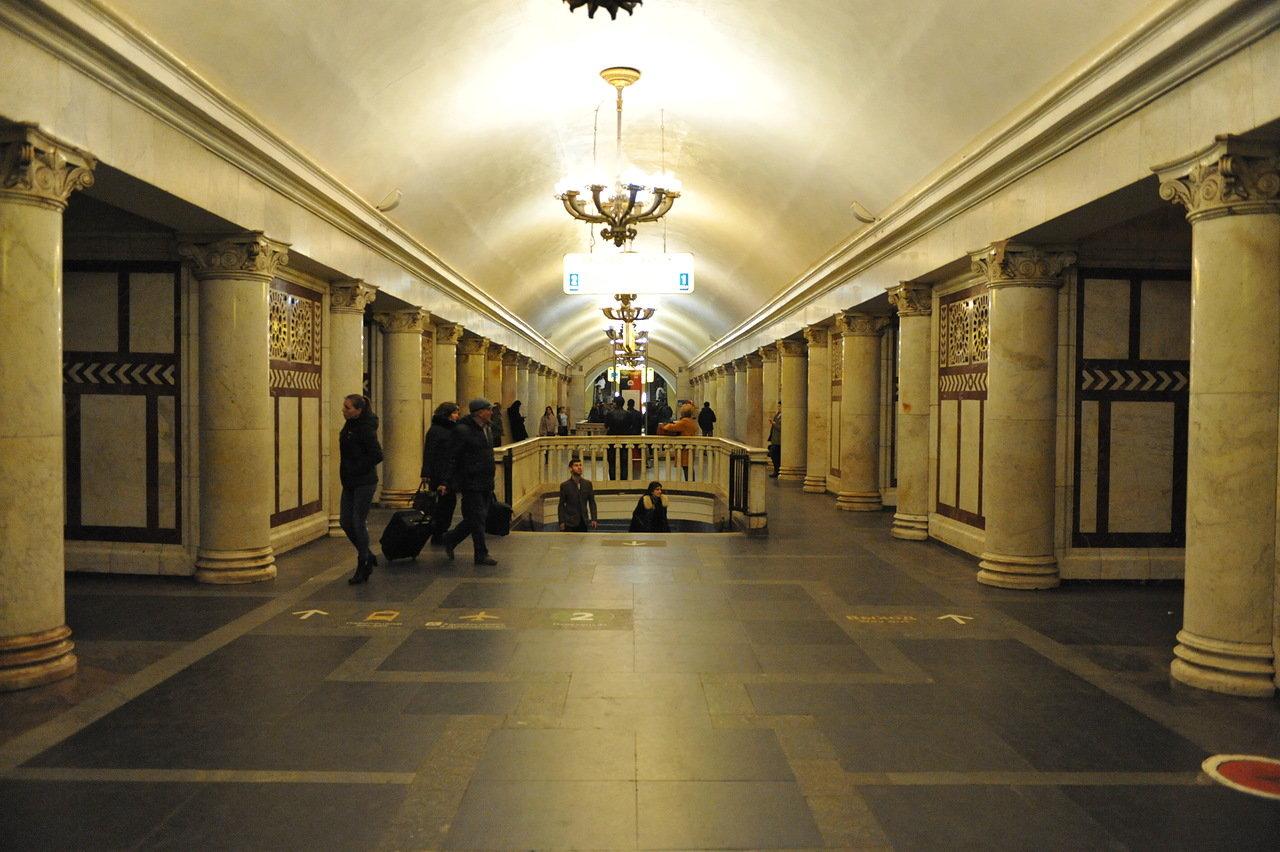На центральном участке Замоскворецкой линии метро увеличены интервалы движения поездов
