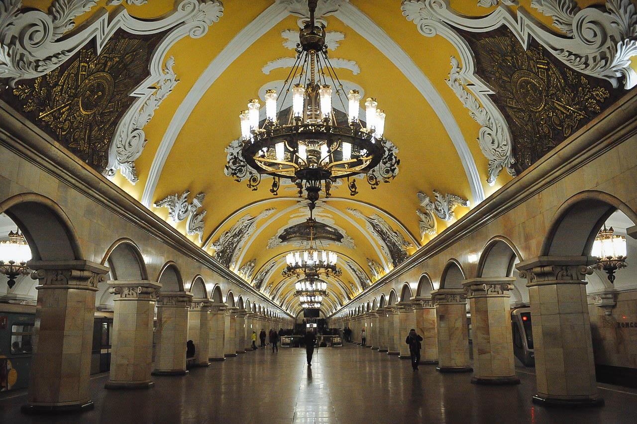 В Московском метрополитене завершилась генеральная уборка ко Дню города