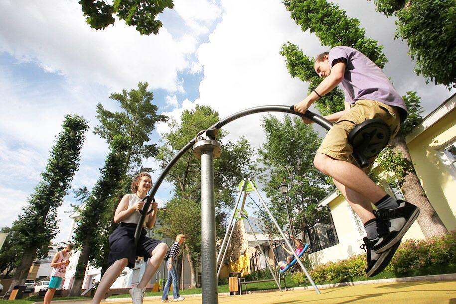 В столичном районе Красносельский установят новую спортивную площадку