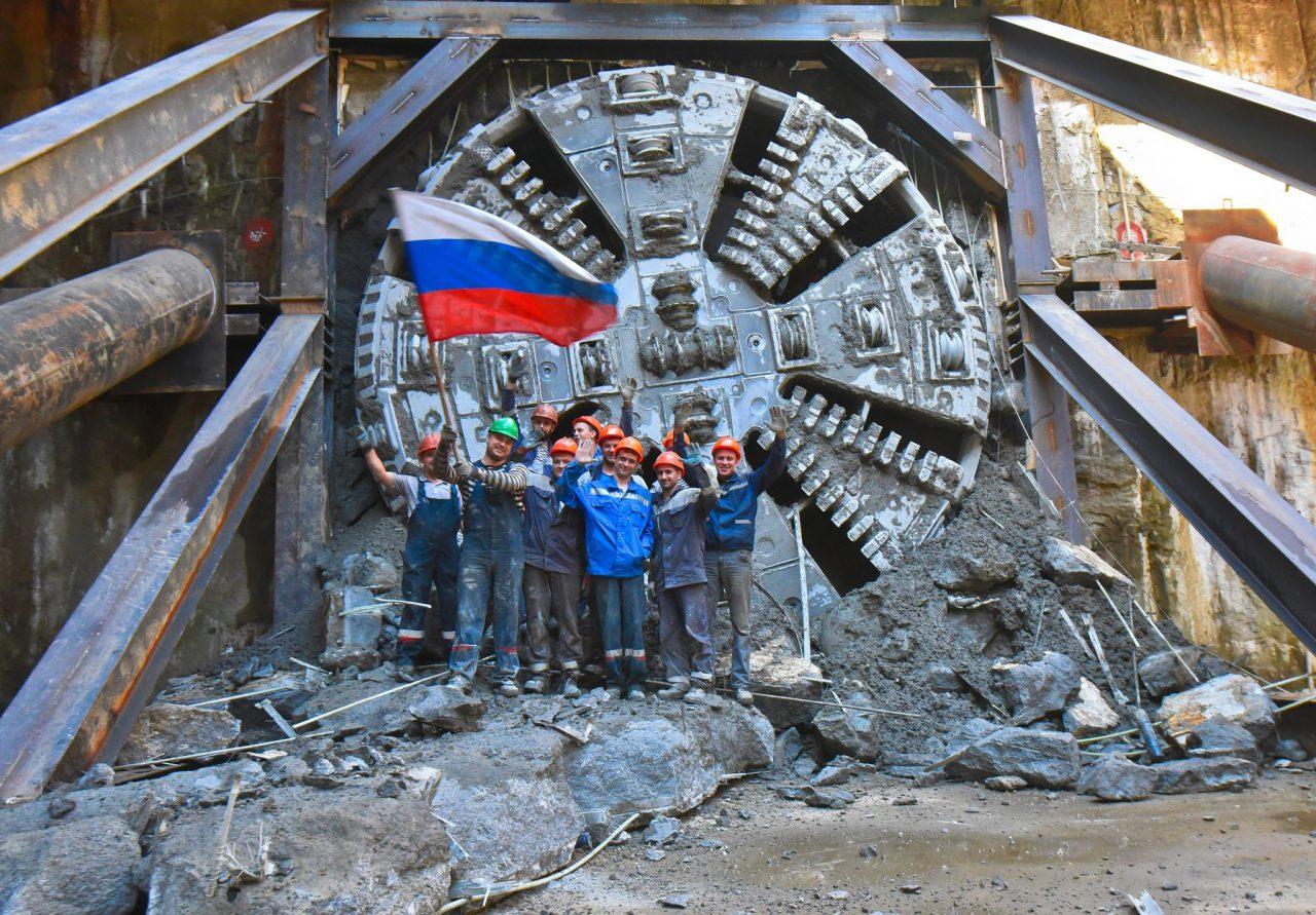 Завершилась проходка левого перегонного тоннеля от станции «Авиамоторная» до «Нижегородской»