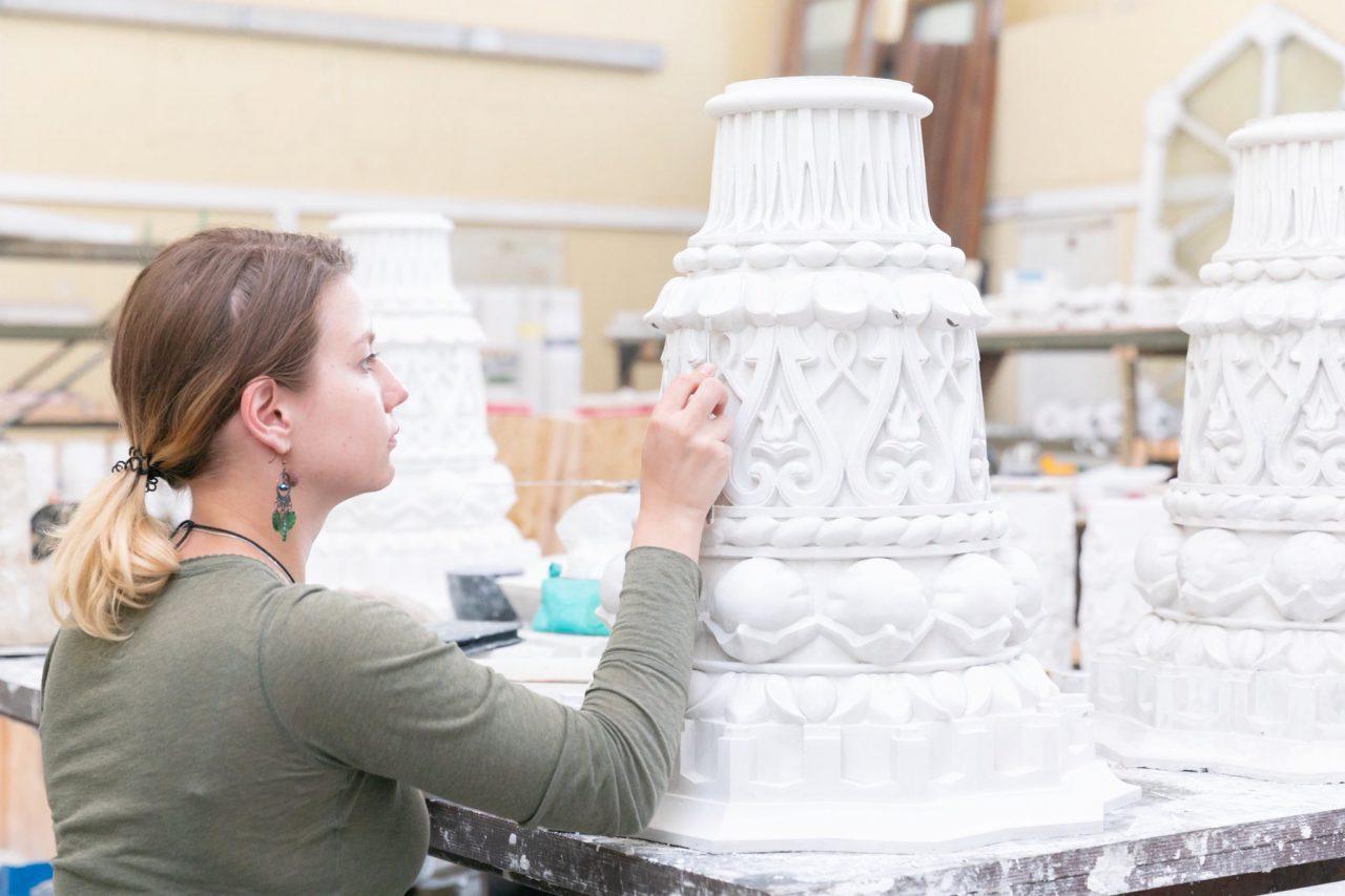 Реставрация павильона «Культура» на ВДНХ завершится в 2019 году