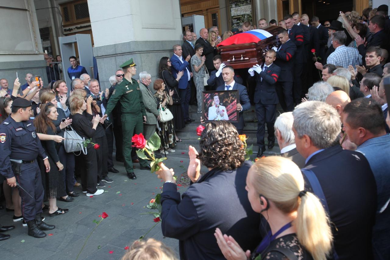 В Москве завершилась церемония прощания с Иосифом Кобзоном