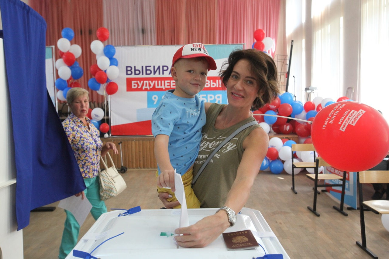 Значительный нарушений на выборах Мэра Москвы не зафиксировано