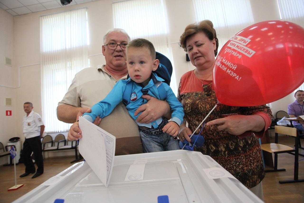 Явка на выборах мэра Москвы по состоянию на 15:00 составила 17,78%