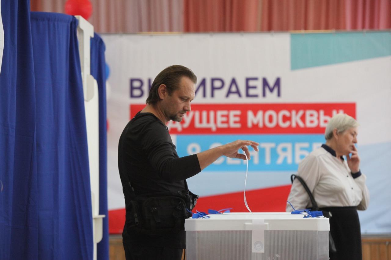 Явка на выборах мэра Москвы по состоянию на 18:00 составила 23,63%