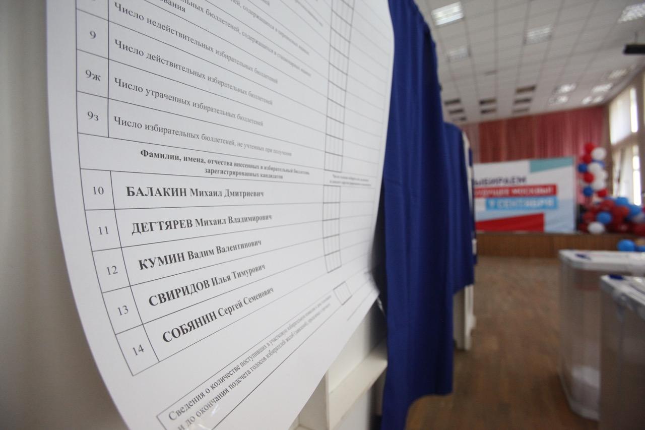 Технические проблемы на выборах Мэра Москвы оперативно решены — Шапошников