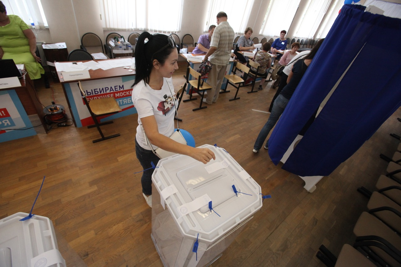 В Мосгоризбирком не поступало жалоб на проведение выборов мэра Москвы