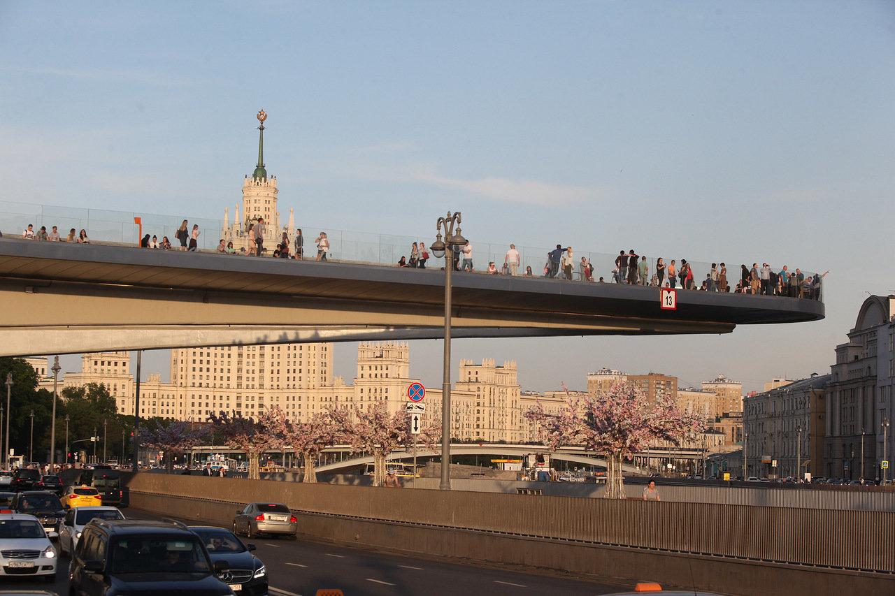 В первый год работы парк «Зарядье» посетили более 11 млн гостей