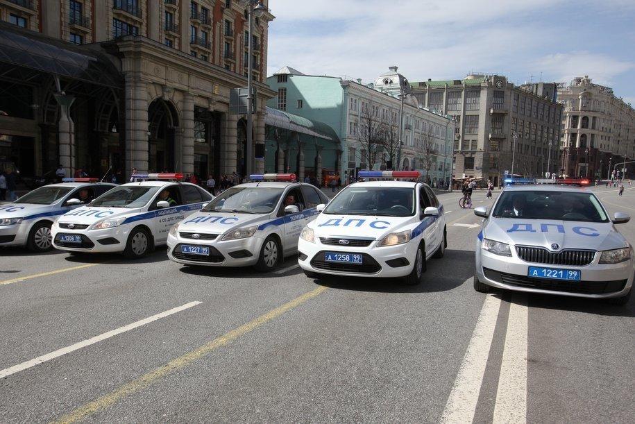 Сняты перекрытия в центре Москвы, введенные в связи с проведением эстафеты огня зимней универсиады