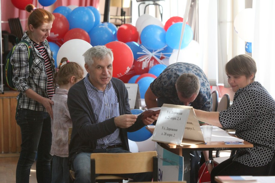 Более 2 млн москвичей приняли участие в голосовании на выборах Мэра Москвы