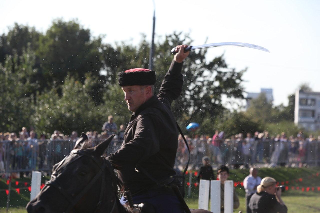 Фестиваль «Казачья станица Москва» в парке Коломенское посетили более 80 тыс. человек
