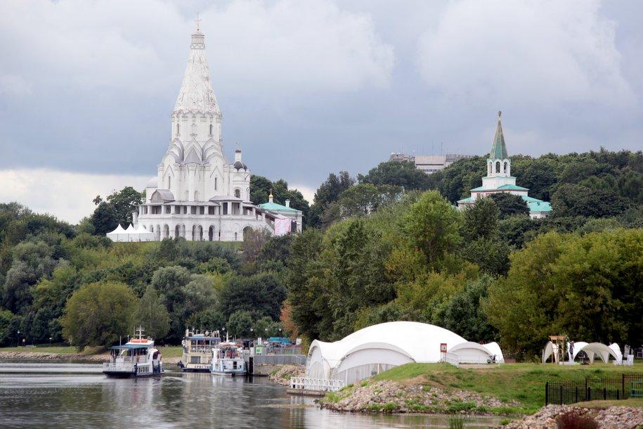 Коломенское, где пройдет «Казачья станица Москва», лидирует в рейтинге ТОП направлений выходного дня в сентябре