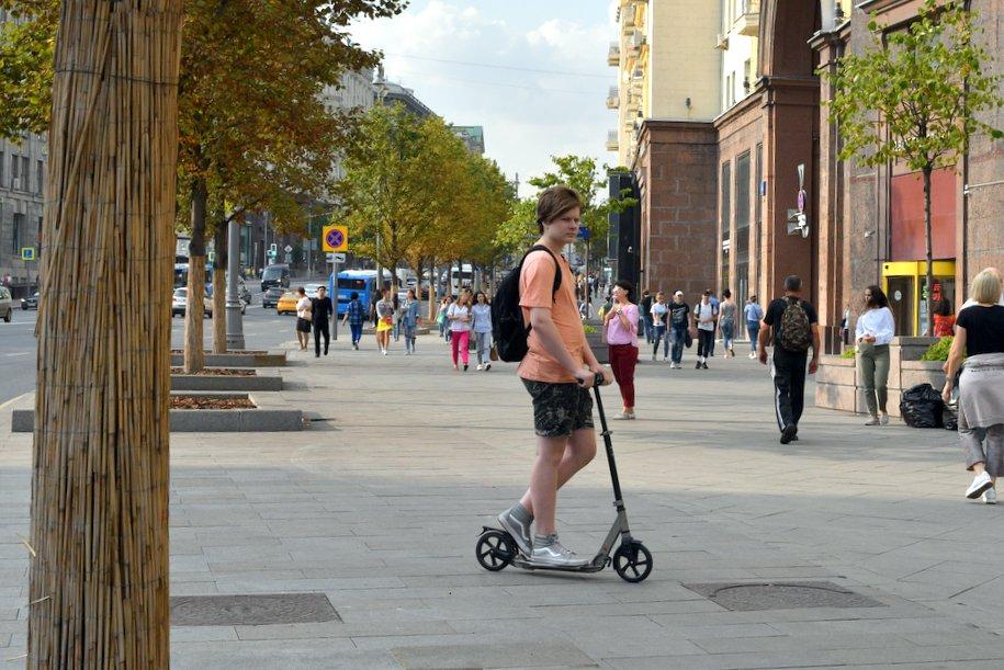 Тверская улица станет пешеходной в День Города