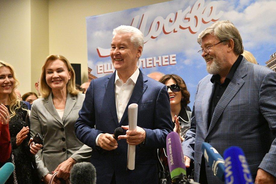 Сергей Собянин набрал 70,02% голосов на выборах мэра