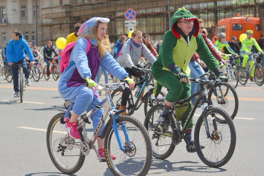 В осеннем велопараде в Москве могут принять участие более 20 тыс. человек