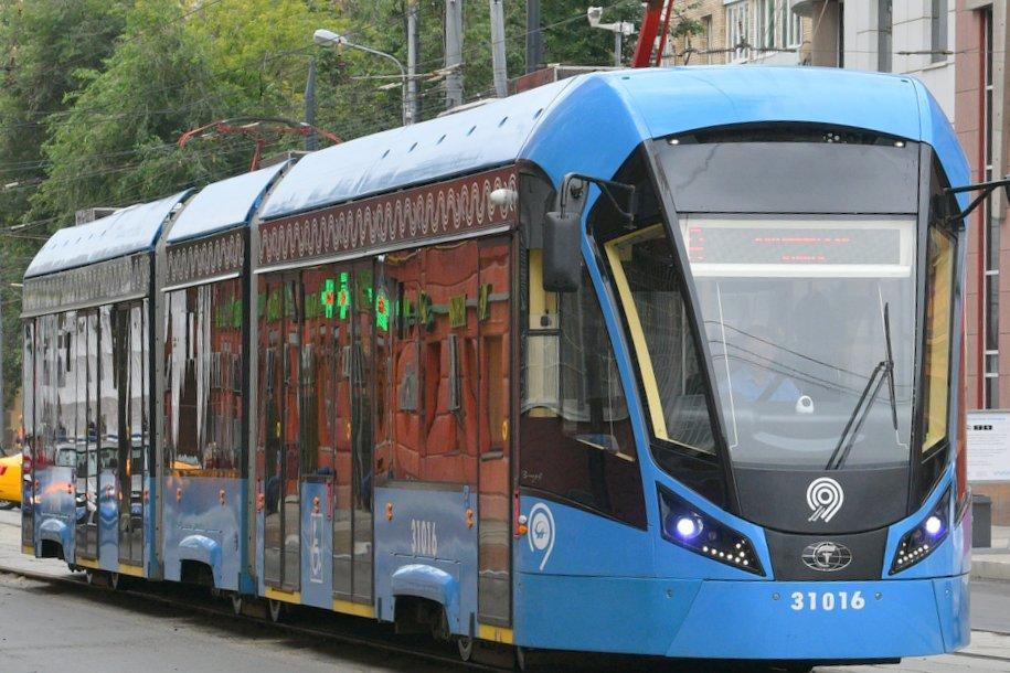 Парк столичных трамваев полностью обновят к 2024 году