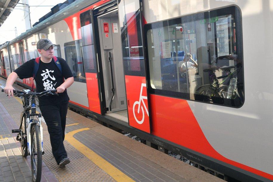 С 16 по 22 сентября провоз велосипедов в пригородных электропоездах будет бесплатным