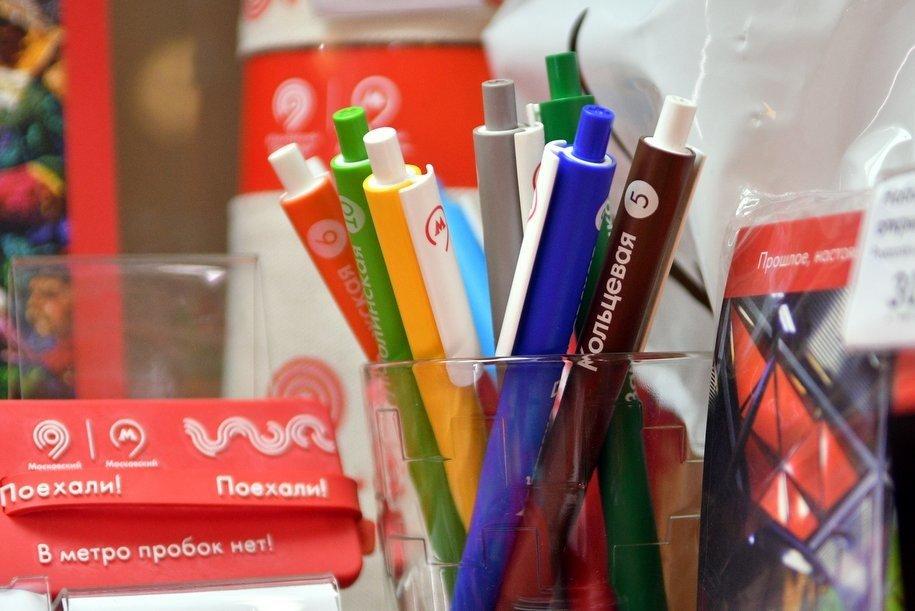 Более 1,5 тыс. сувениров продано на станциях «Курская» и «Александровский сад»