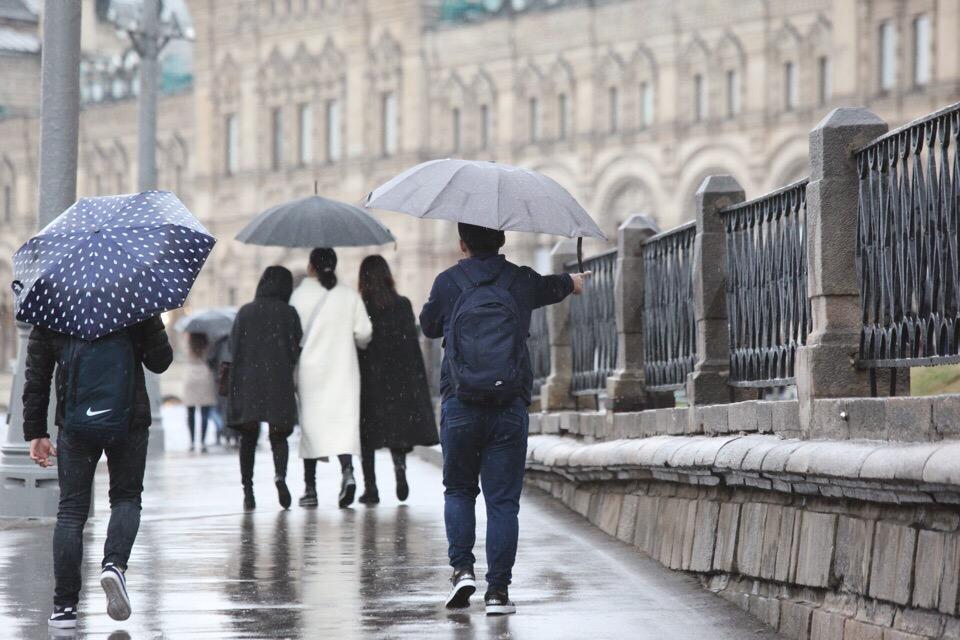 19 октября в столичном регионе ожидается облачная погода и небольшие дожди