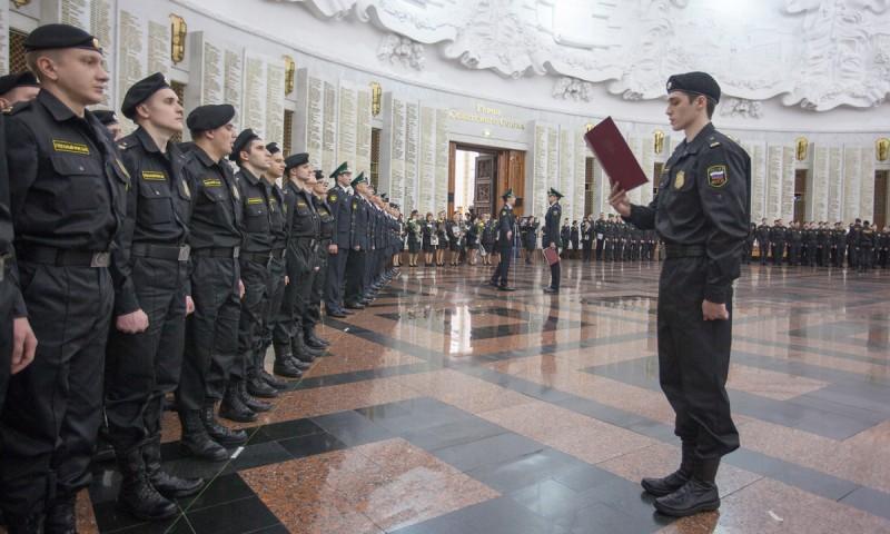 Приведение к присяге судебных приставов Москвы и Московской области