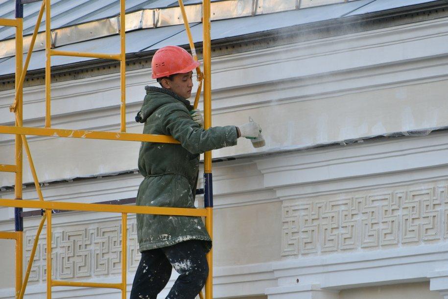 В районе Лефортово началась реставрация гаража Госплана