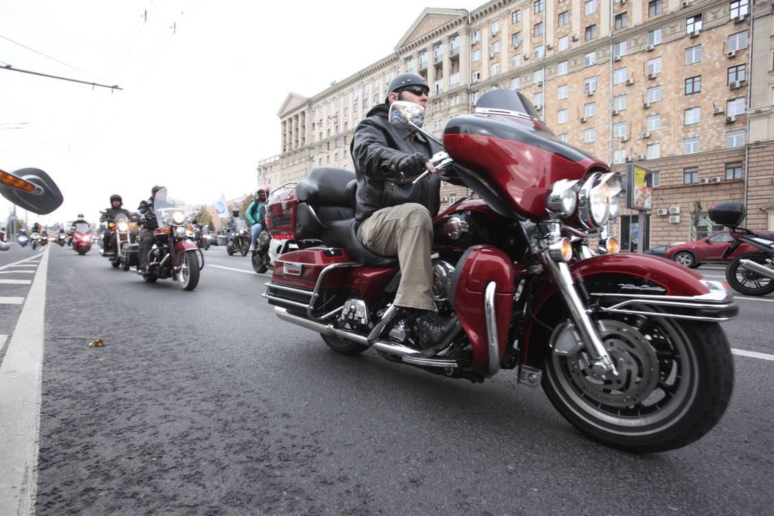 Осенний мотофестиваль в Москве посетили более 40 тысяч человек
