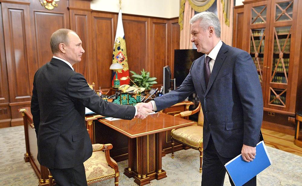 Президент России обсудит перспективы развития Москвы с Сергеем Собяниным