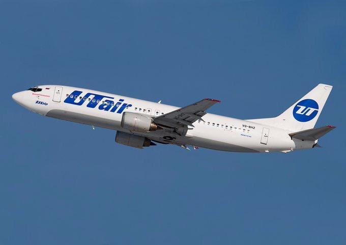 Авиакомпания Utair перевезла в сентябре почти 800 тысяч человек