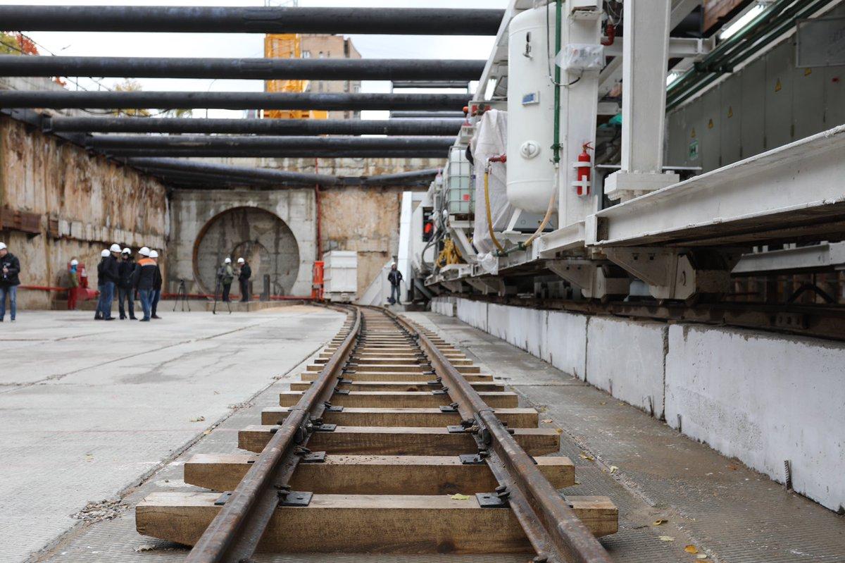 Между станциями БКЛ «Каховская» и «Зюзино» началась проходка тоннеля