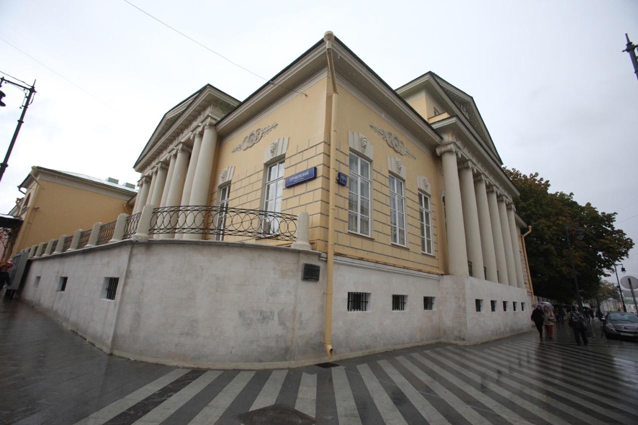 Дом художников на Волхонке признали объектом культурного наследия