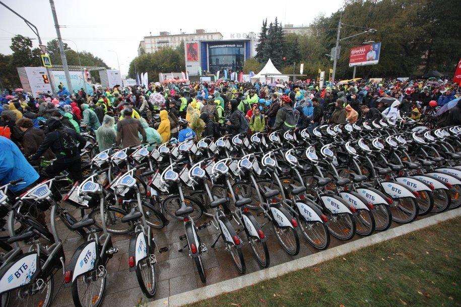 С конца апреля московские велосипеды арендовали более четырех миллионов раз