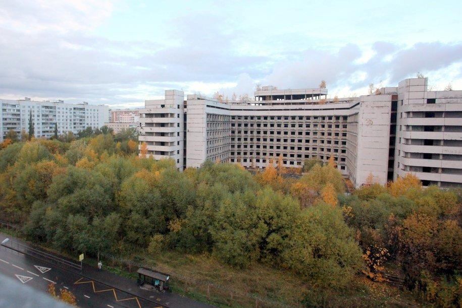 Снос Ховринской больницы могут начать в ноябре