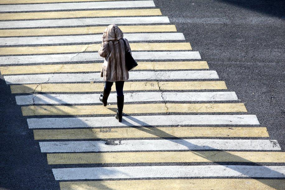 На перекрёстке ул. 800-летия Москвы и ул. Дубнинская появились диагональные пешеходные переходы