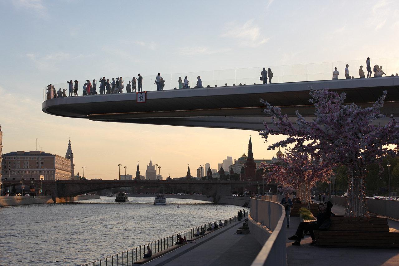 Всю территорию вдоль Москвы-реки обустроят в течение пяти лет