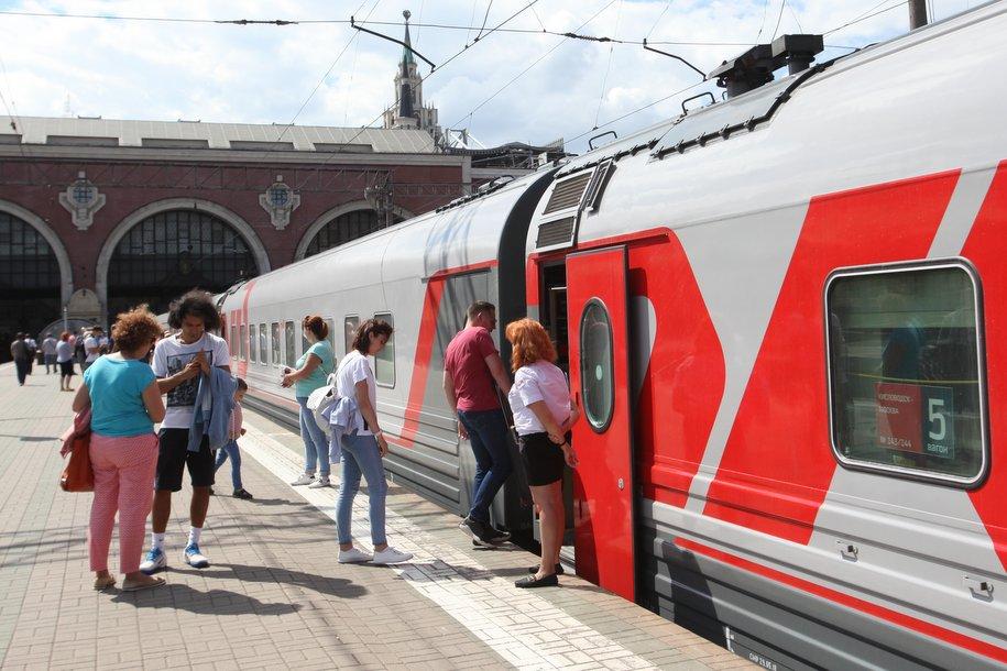 Москву и Вологду связал прямой скорый поезд